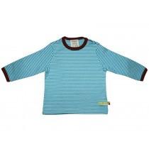 loud and proud Shirt stripes aqua