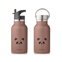 LIEWOOD Water Bottle Anker PANDA dark rose