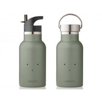 LIEWOOD Water Bottle Anker RABBIT faune green