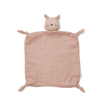 LIEWOOD Cuddle Cloth Agnete CAT old rose