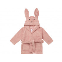 LIEWOOD Hooded Bathrobe Lily RABBIT old rose 1 - 2 years
