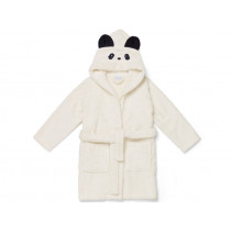 LIEWOOD Hooded Bathrobe Lily PANDA cream 1 - 2 years