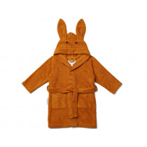 LIEWOOD Hooded Bathrobe Lily RABBIT mustard 3 - 4 years
