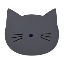 LIEWOOD Placemat Aura CAT dark grey