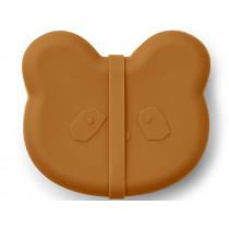 LIEWOOD Lunchbox Vita PANDA mustard