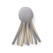 LIEWOOD Knitted Toy Helmer OCTOPUS grey