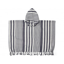 LIEWOOD Poncho ROOMIE navy/cream 1-2