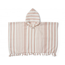 LIEWOOD Poncho ROOMIE old rose/cream 2-4
