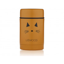 LIEWOOD Food Jar Nadja CAT mustard