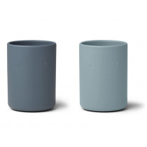 LIEWOOD Ethan Cups 2 Pack blue mix