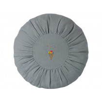 Maileg Round Cushion ICE CREAM blue