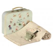Maileg Baby Gift Set BAMBI mint