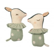 Maileg Rattle BAMBI dusty mint
