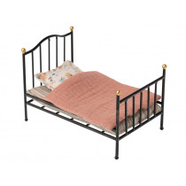 Maileg VINTAGE BED for Mouse anthracite
