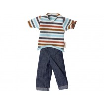 Maileg Ginger Family SET T-Shirt & Jeans