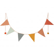 Maileg GARLAND with 6 Flags Small