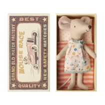 Maileg Mouse Big Sister in Box FLORAL DRESS