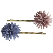 Maileg 2 Bobby Pins CHIFFON FLOWERS