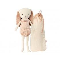 Maileg Bunny Bell in Bag rose