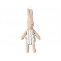 Maileg Micro Rabbit with Jumpsuit Boy
