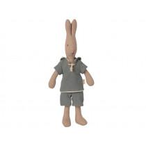 Maileg Rabbit SAILOR Dusty Blue (Size 1)