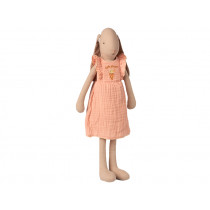 Maileg Bunny with DRESS Rose (Size 3)