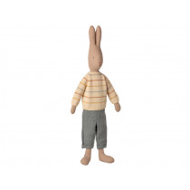 Maileg Rabbit with PANTS and Knitted Sweater (Size 5)
