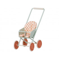 Maileg STROLLER for Micro Mouse SKY BLUE