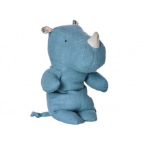 Maileg Safari Friends Rhino blue small