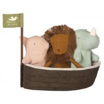 Maileg NOAH'S ARK with 3 Mini Friends