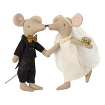 Maileg Mouse WEDDING COUPLE in Box
