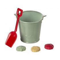 Maileg Mouse BEACH SET with Showel, Bucket & Shells