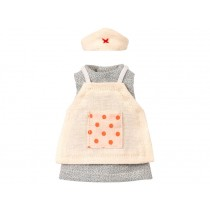 Maileg NURSE CLOTHES for Mum Mouse
