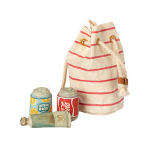 Maileg BEACH BAG with Beach Essentials