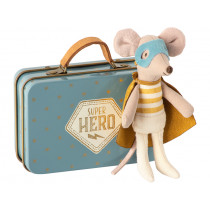 Maileg Little Brother Mouse SUPERHERO