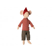 Maileg Mouse CHRISTMAS Medium Boy