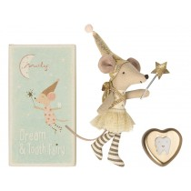 Maileg Mouse Dream & Tooth Fairy with dental dose rose