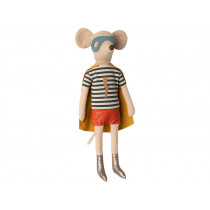 Maileg Mouse Boy Maxi SUPER HERO