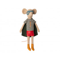 Maileg Mouse Boy Medium SUPER HERO