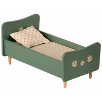 Maileg Wooden DOLLS BED for SIZE 1 & 2 dusty green