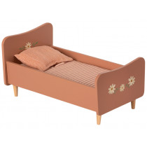 Maileg Wooden DOLLS BED for SIZE 1 & 2 rose