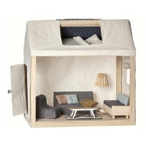 Maileg Wooden Dolls House with Furniture