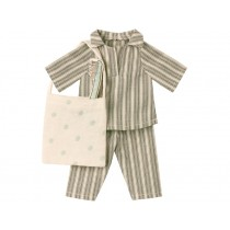 Maileg SLEEP-OVER Set Medium grey