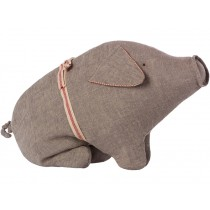 Maileg Pig GREY MEDIUM