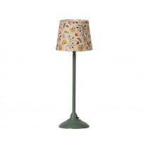 Maileg Doll House FLOOR LAMP dark mint