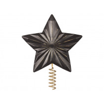 Maileg Christmas Tree Top STAR anthrazit