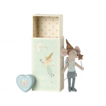 Maileg Tooth Fairy Mouse BIG BROTHER with Tooth Jar