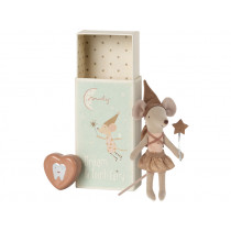 Maileg Tooth Fairy Mouse BIG SISTER with Tooth Jar