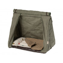 Maileg Happy Camper Tent MOUSE khaki