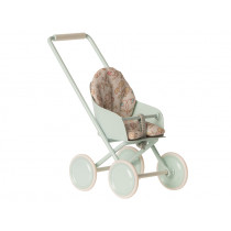 Maileg STROLLER for Micro sky blue